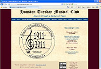 Visit Houston Tuesday Musical Club