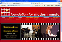 Visit Foundation for Modern Music